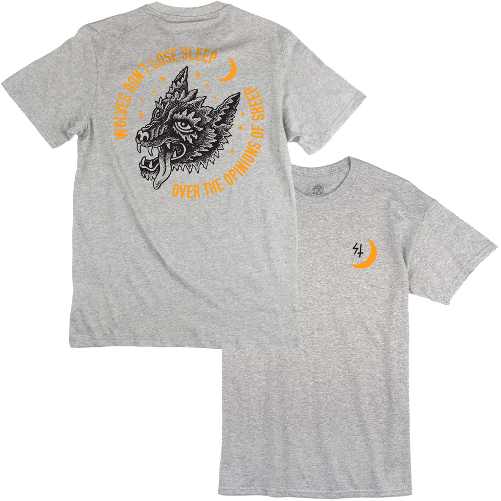 Wolves Don't Lose Sleep Over The Opinions Of Sheep T Shirt | Lurking Class by Sketchy Tank