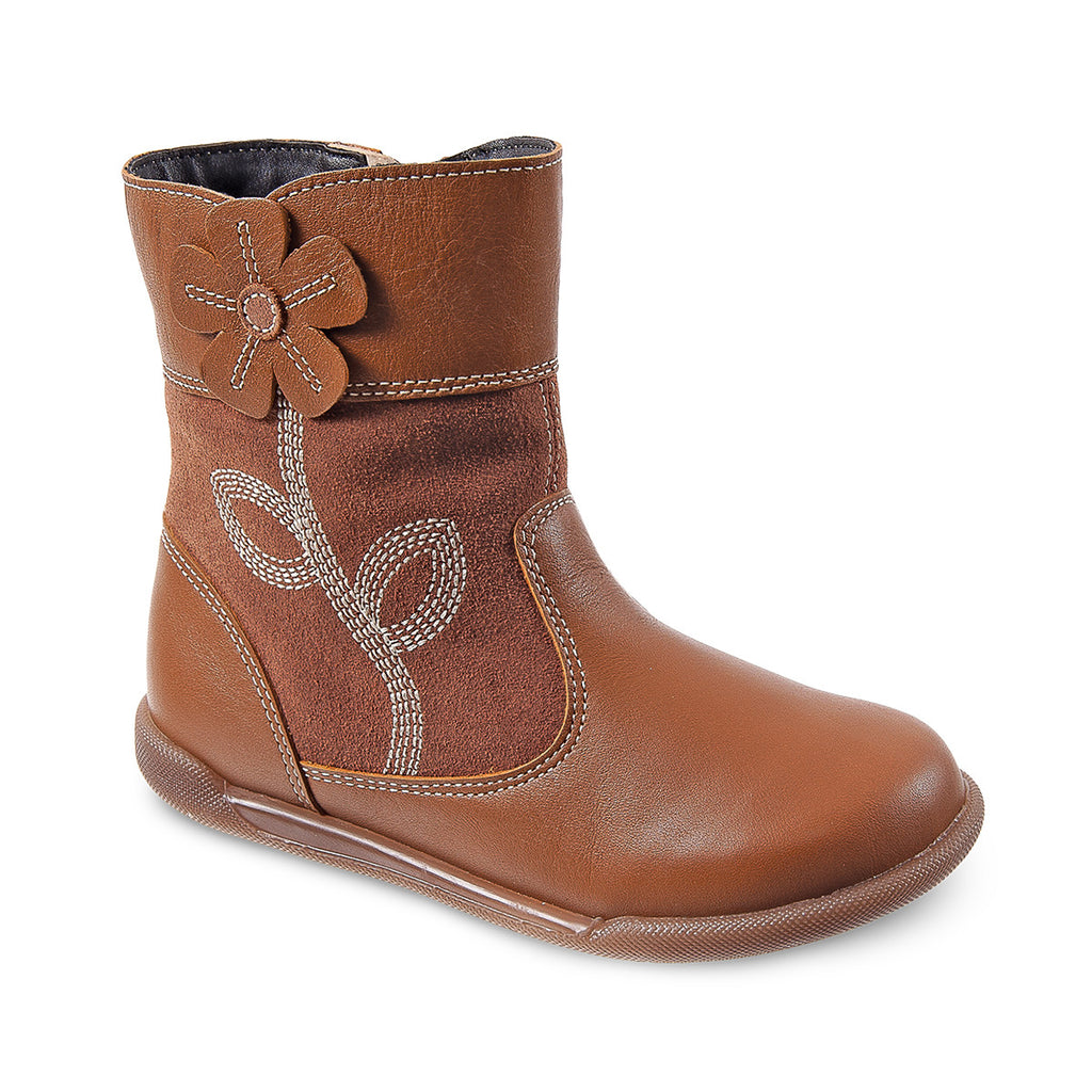 4a1621c43 DG-1601 - Camel Leather - Dogi® Kids Winter Boots