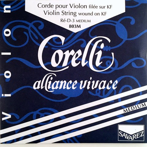 Corelli Alliance Violin D String