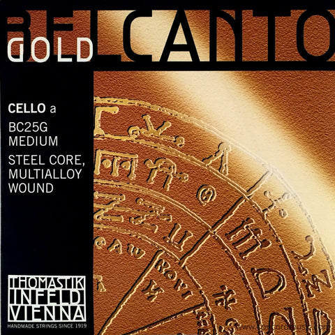 Belcanto Gold Cello A BC25G