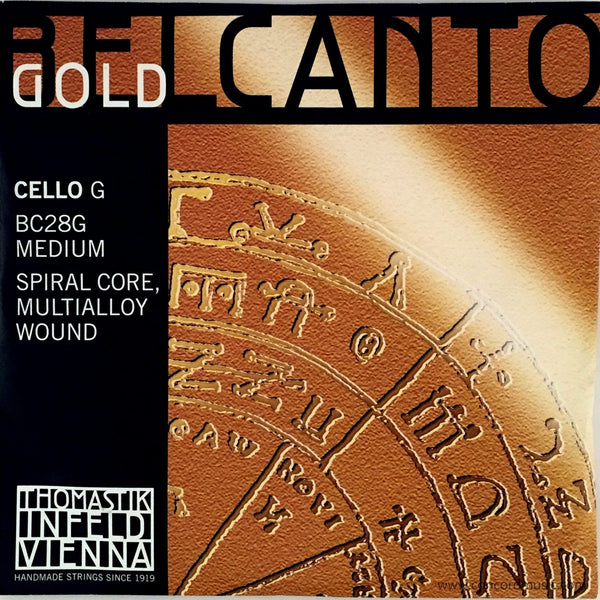 Belcanto Gold Cello G String BC28G