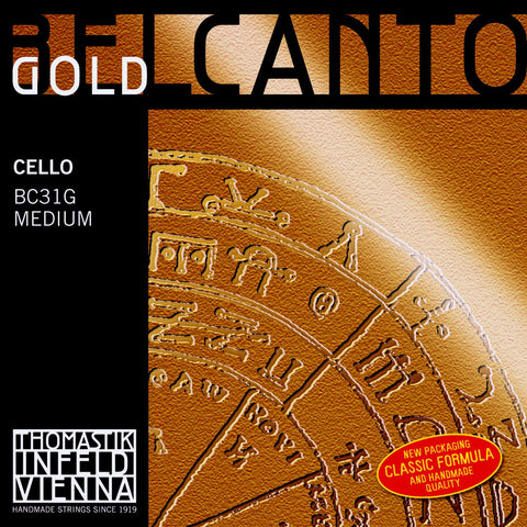 Belcanto Gold Cello Set BC31G