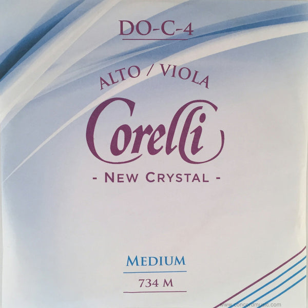 Crystal C Viola String-synthetic core