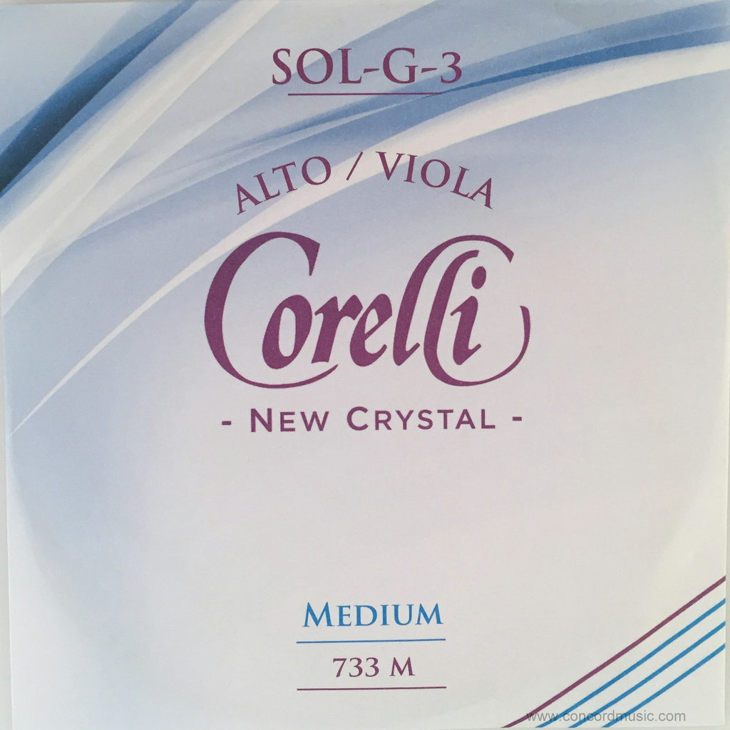 Crystal G Viola String-synthetic core