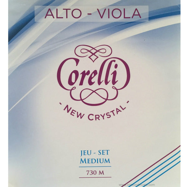 Crystal Viola String Set