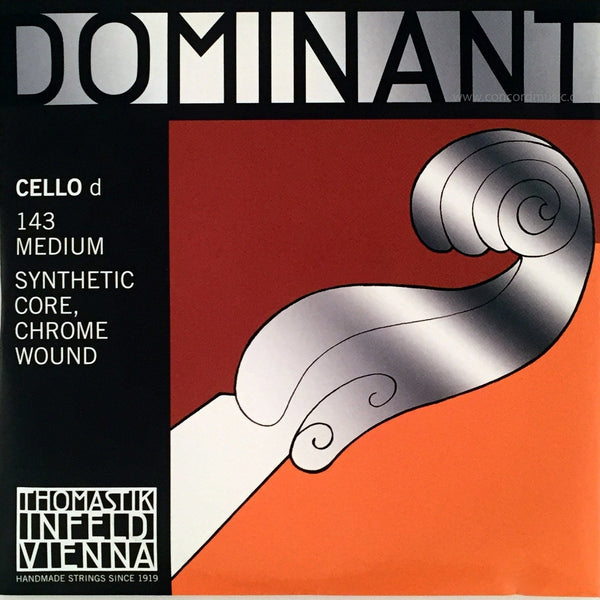 Dominant Cello D String 143