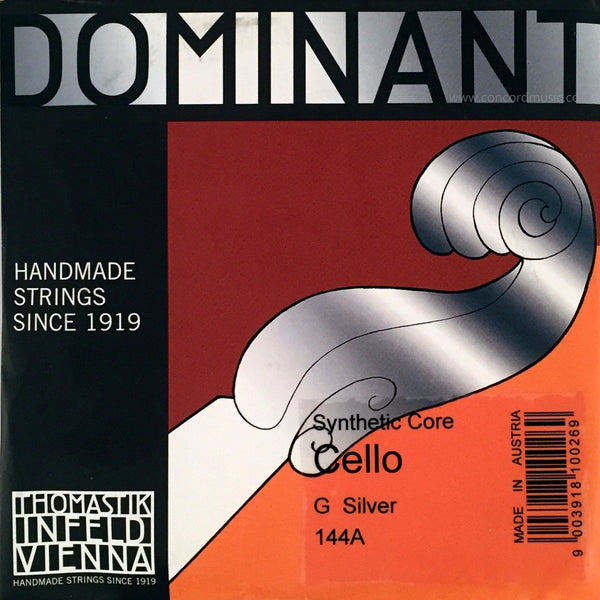 Dominant Cello Silver G String 144A