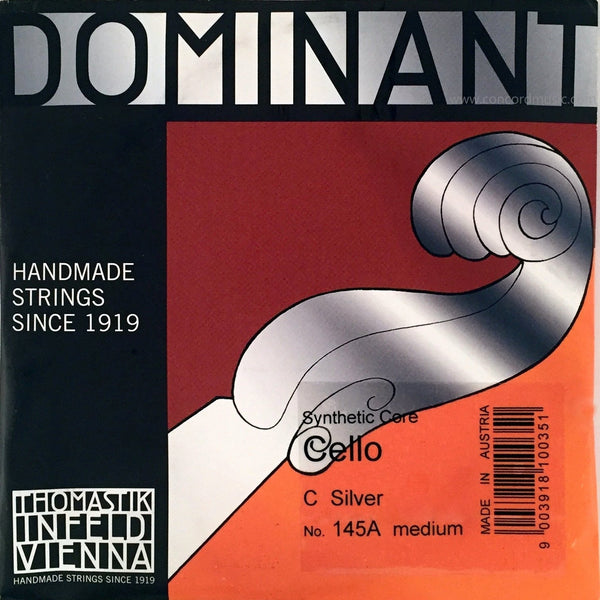 Dominant Cello Silver C String 145A