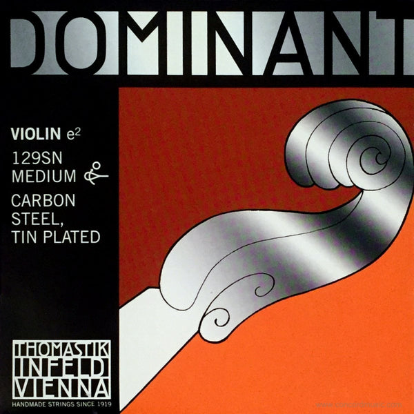 Dominant Violin Tin E 129SN