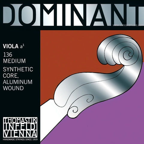 Dominant viola A Strings synthetic 136