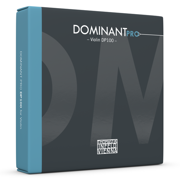 Dominant PRO DP100 Violin Strings Packaging front view