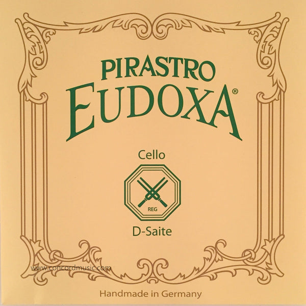 Eudoxa Gut Cello D String 2342