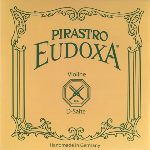 Eudoxa Gut Violin D String 2143