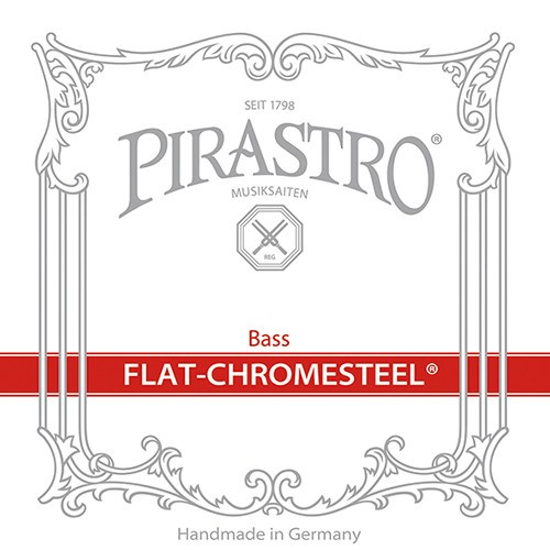 Flat-Chromesteel E-IV Bass String No. 3424