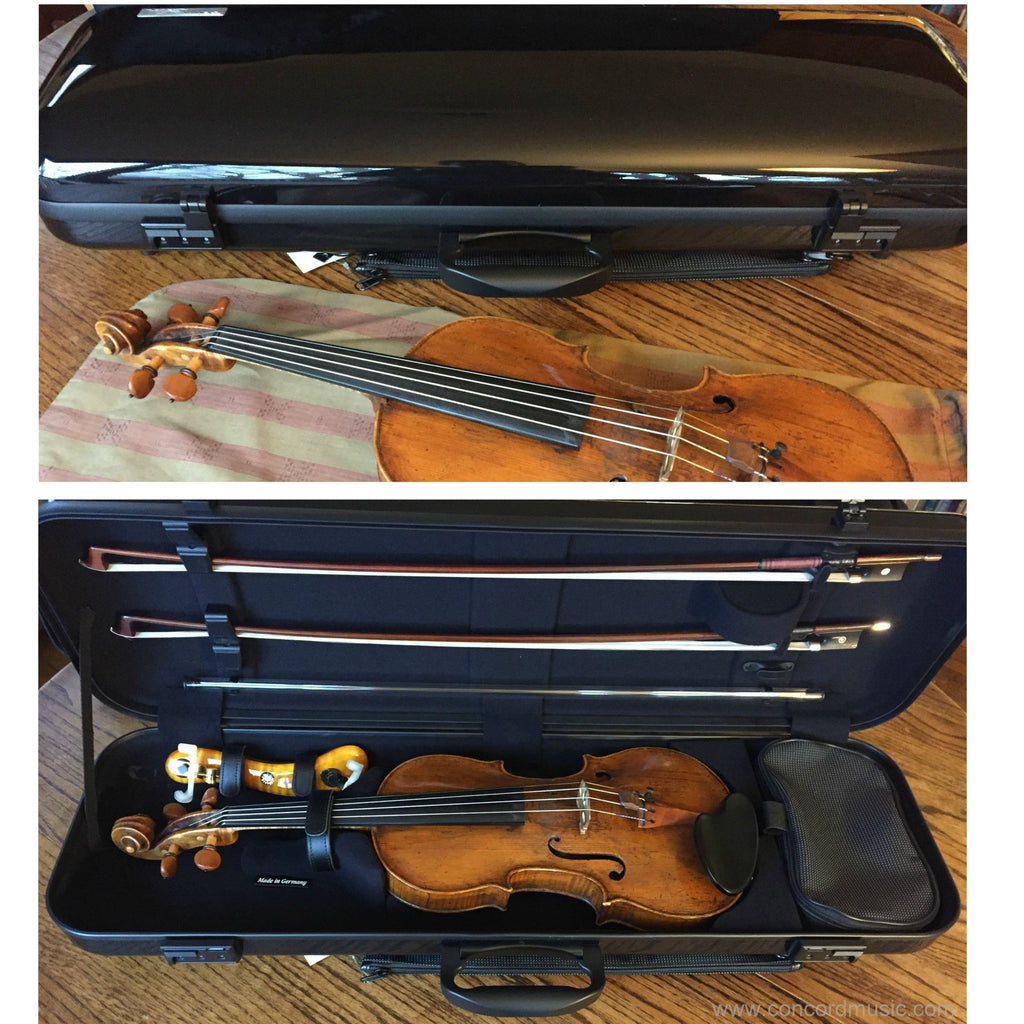 Gewa Air Case for Violin with instrument inside
