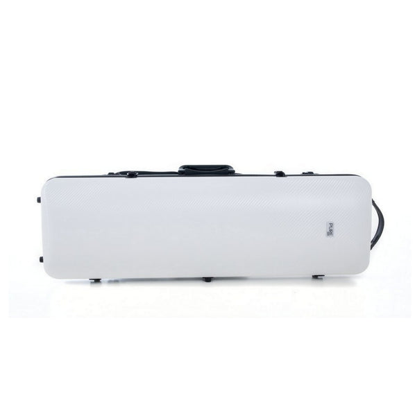 Pure by Gewa Polycarbonate Oblong Violin Case in white