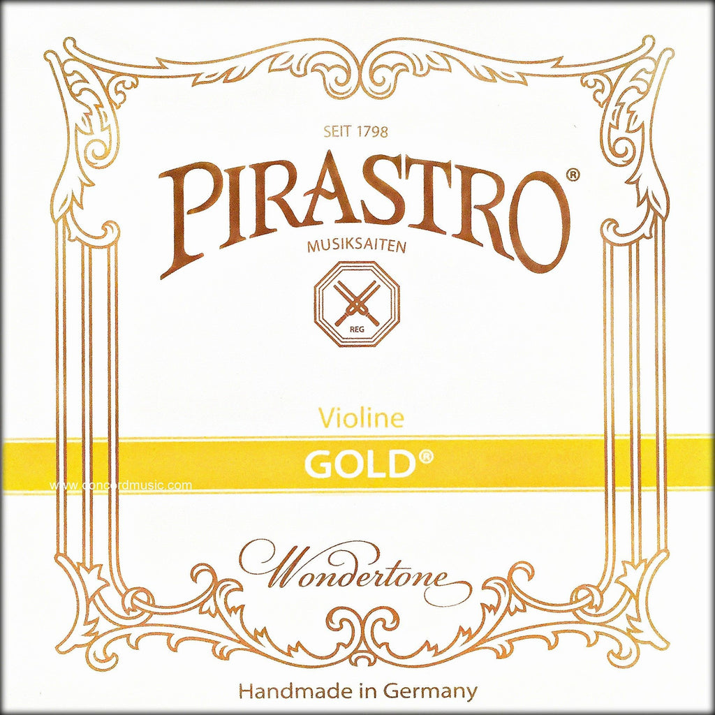 Pirastro Gold Gut Violin Set 215021