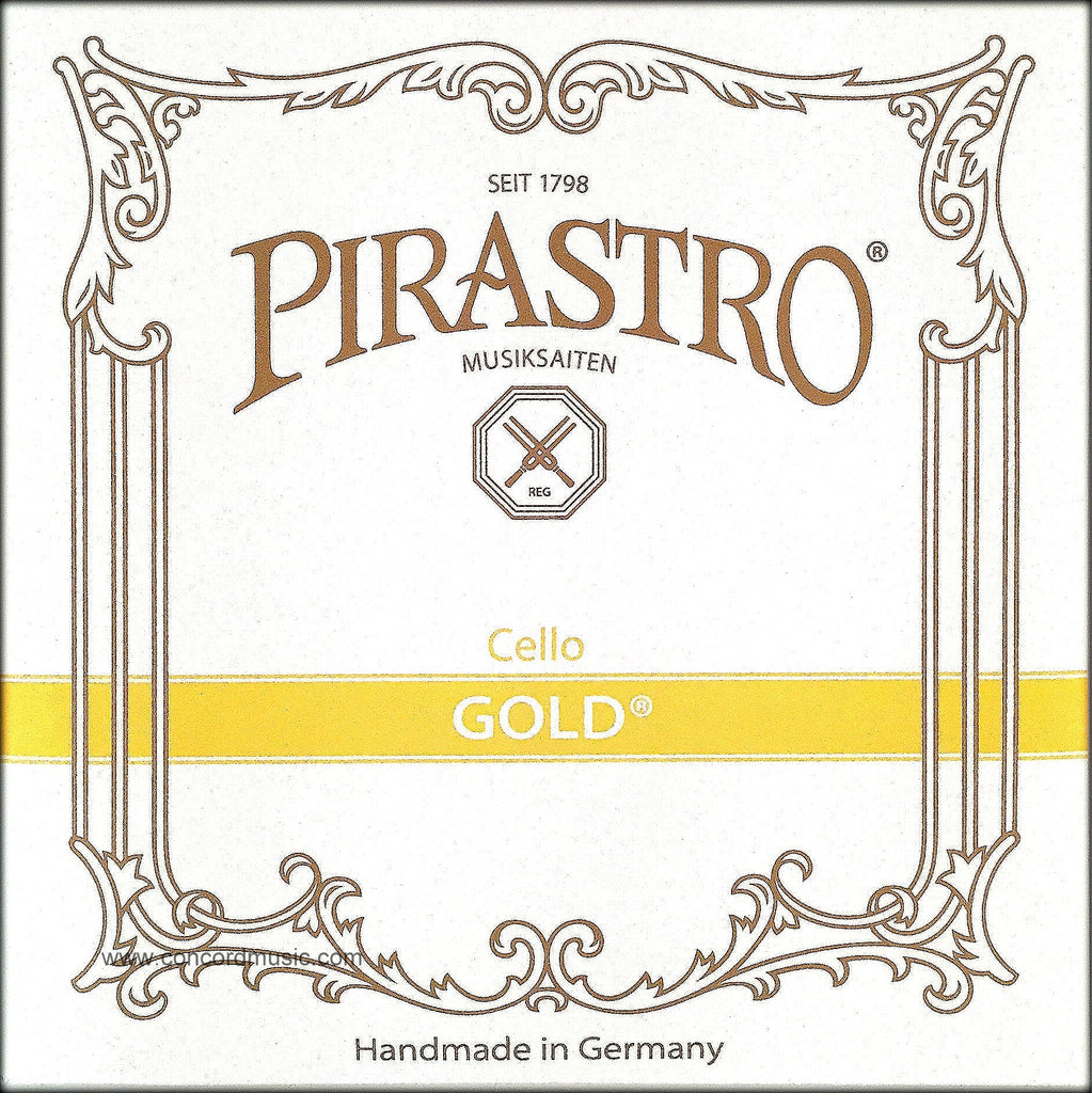 Pirastro Gold Gut Cello D String 2352