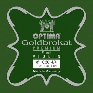 Optima Goldbrokat Premium Violin E String Steel