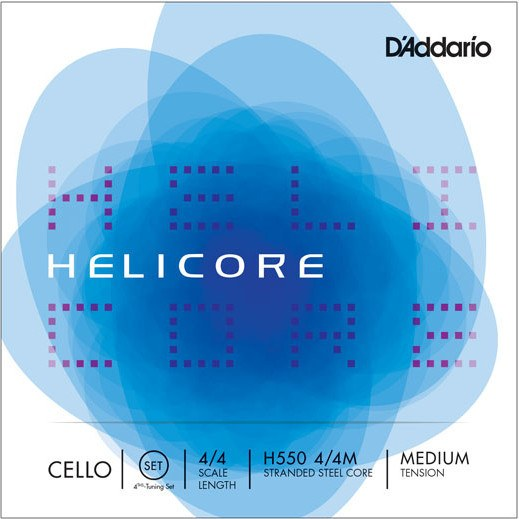 Helicore Cello Fourths Tuning Set H550