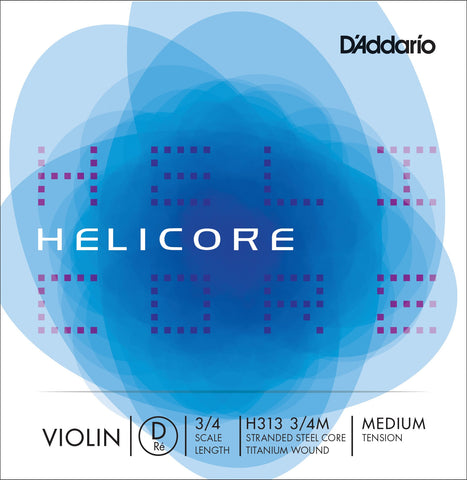 Helicore Violin 3/4 D String