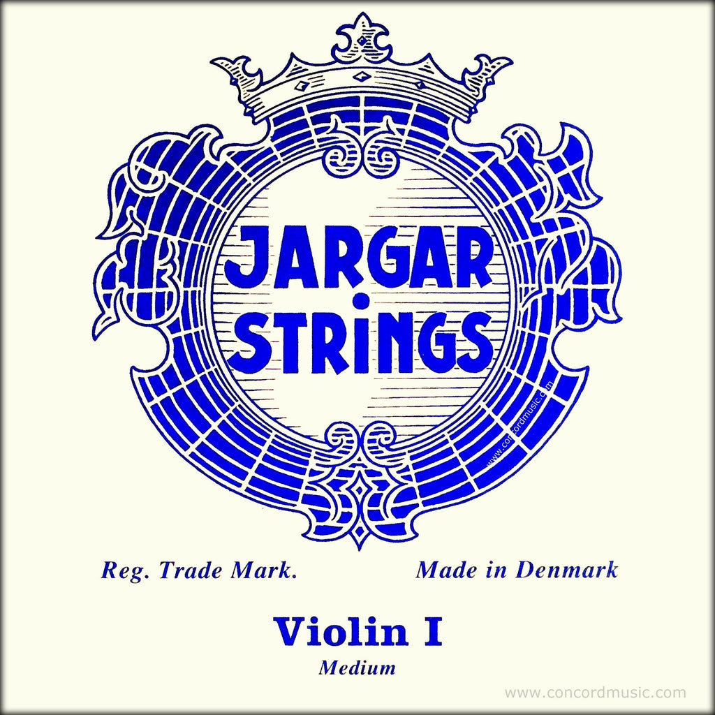 Jargar Violin E String Blue