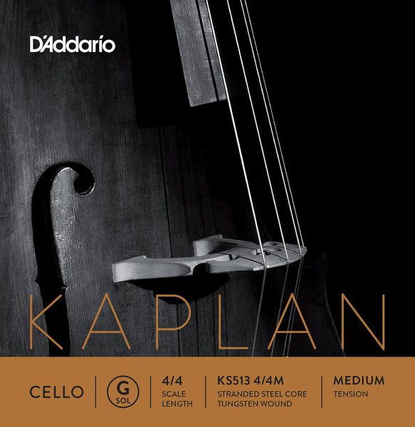 D'Addario Kaplan Cello G String KS513