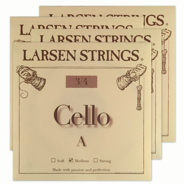 Larsen Cello Set 3/4 size
