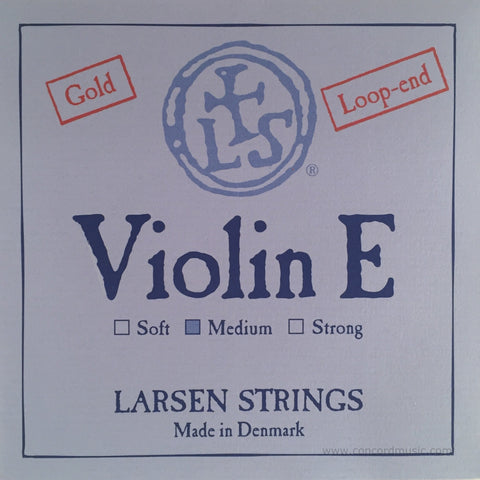 Original Larsen Violin Gold E String