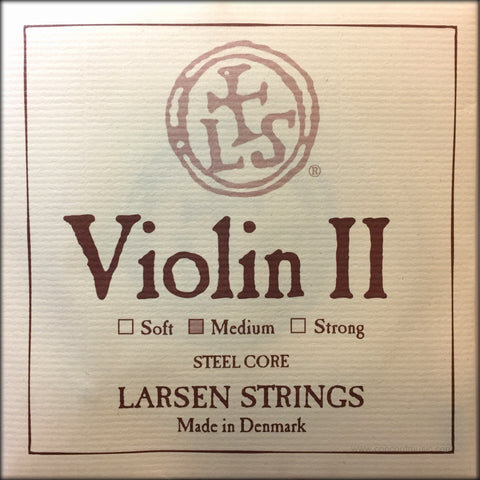 Larsen Violin II Steel Core A String Russian Style