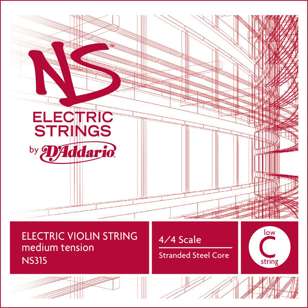 NS Electric Violin low C String NS315