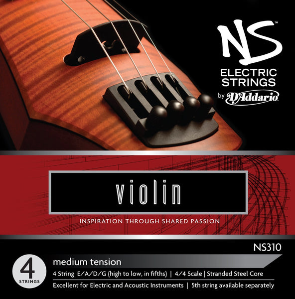 D'Addario Ned Stevens Electric Violin Strings NS310