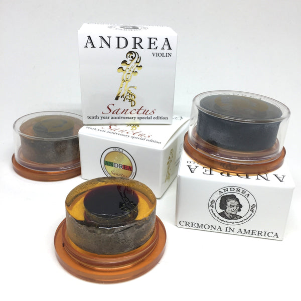Andrea Sanctus Rosin for Violin, Viola & Cello