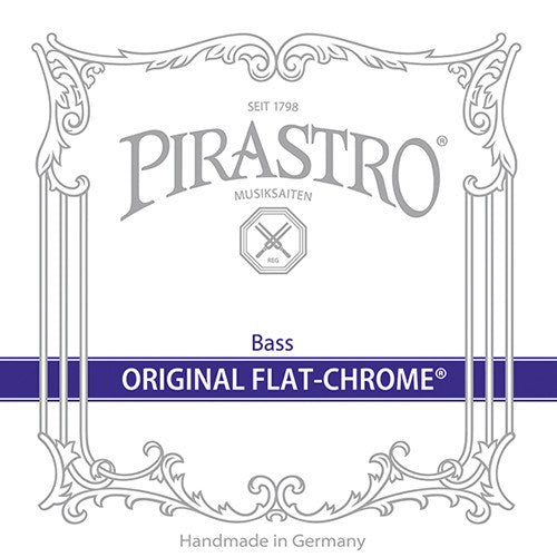 Original Flat-Chrome E Long Ext Bass String