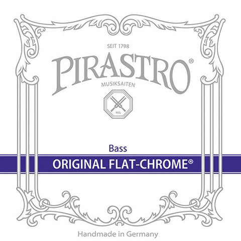 Original Flat-Chrome A-III Bass String