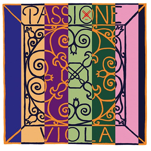 Passione Viola Strings Label Pirastro