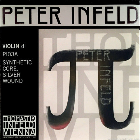 Thomastik Peter Infeld Violin D String Silver PI03A