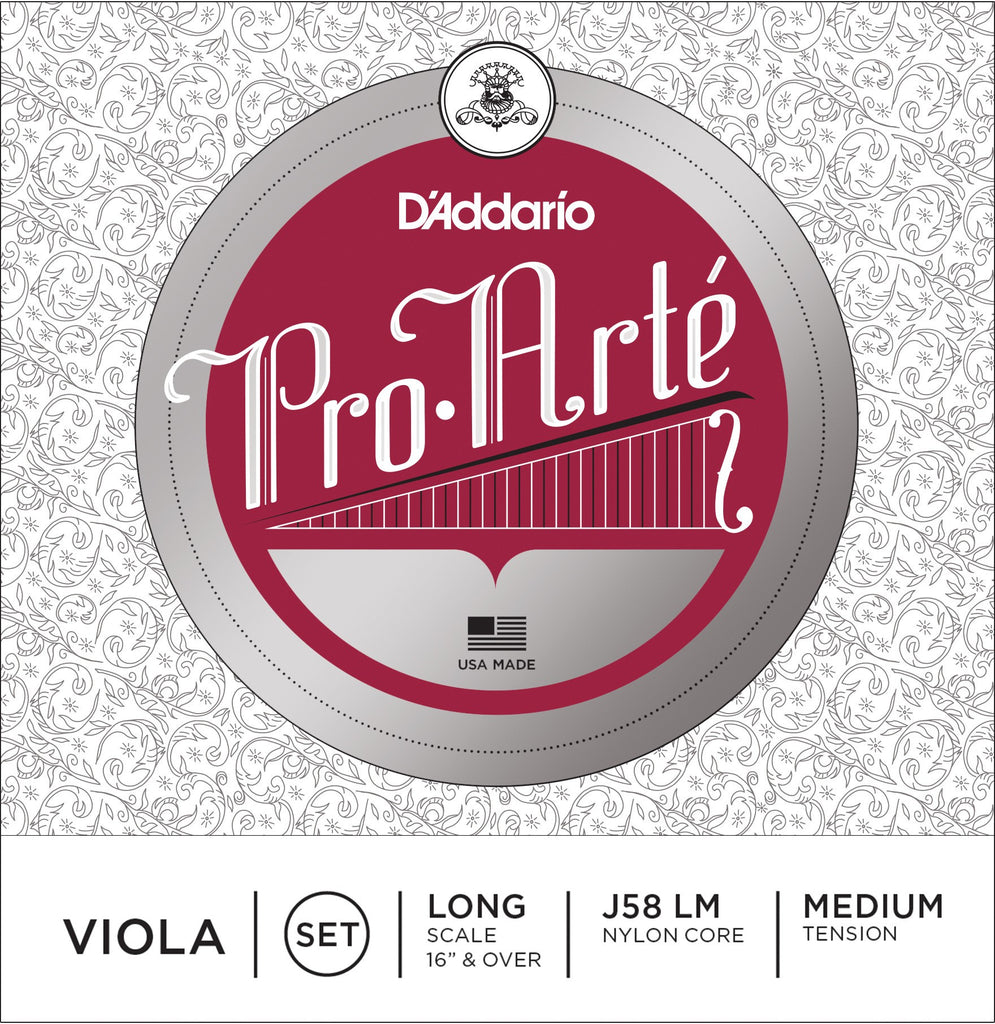 Pro-Arte Viola Strings Set J58
