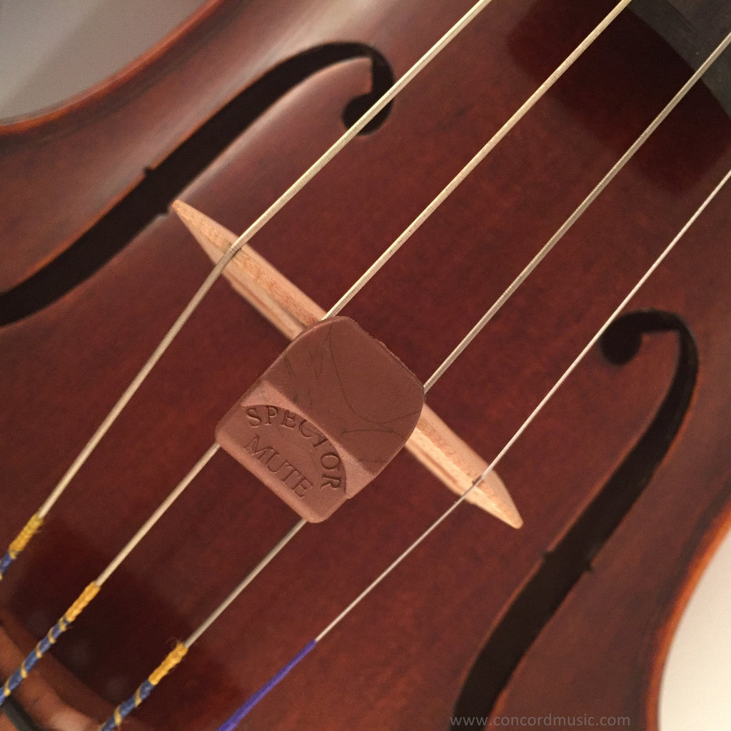 Spector Violin mute, copper color