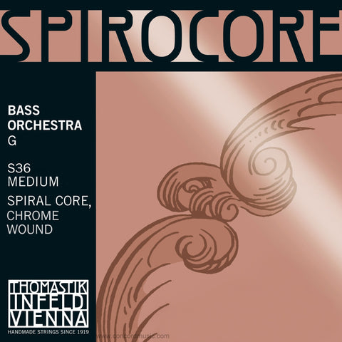 Spirocore Bass Orchestra G String S36