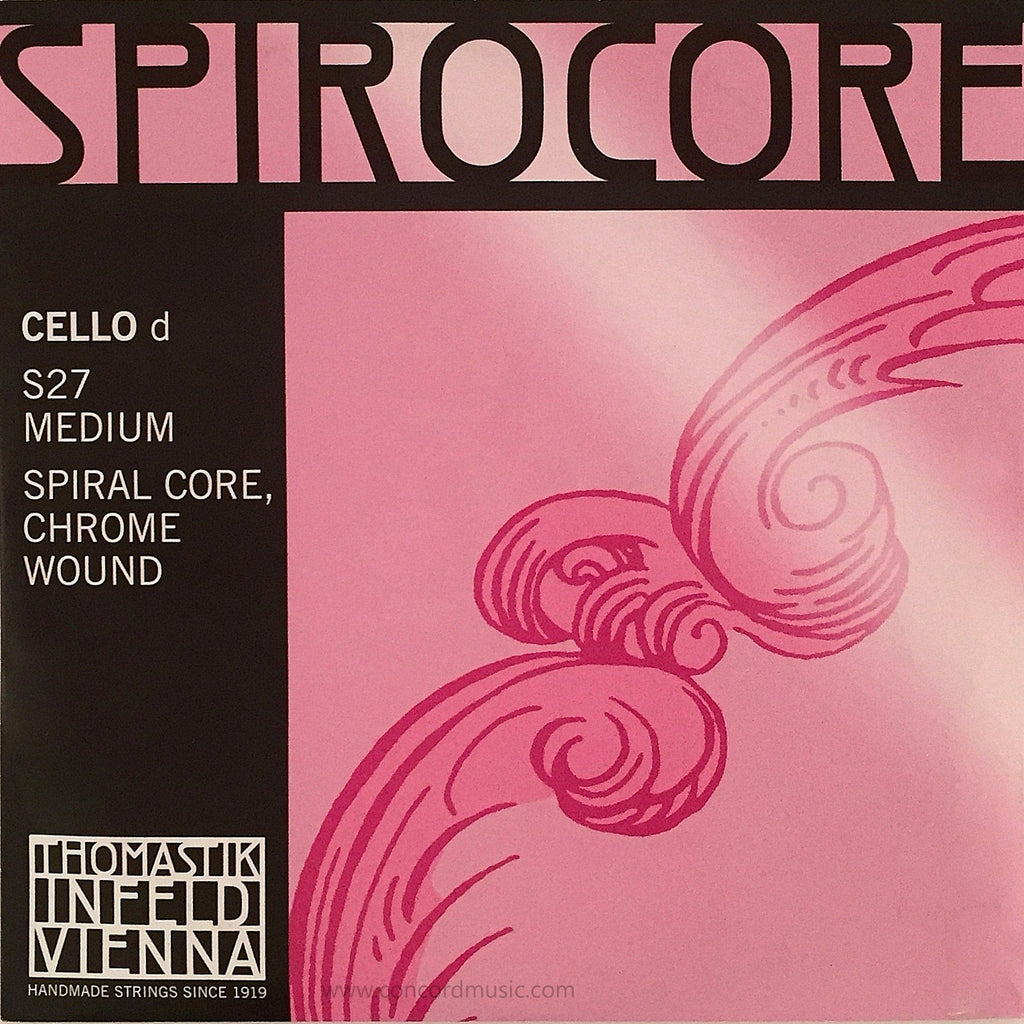 Spirocore Cello D String, S27
