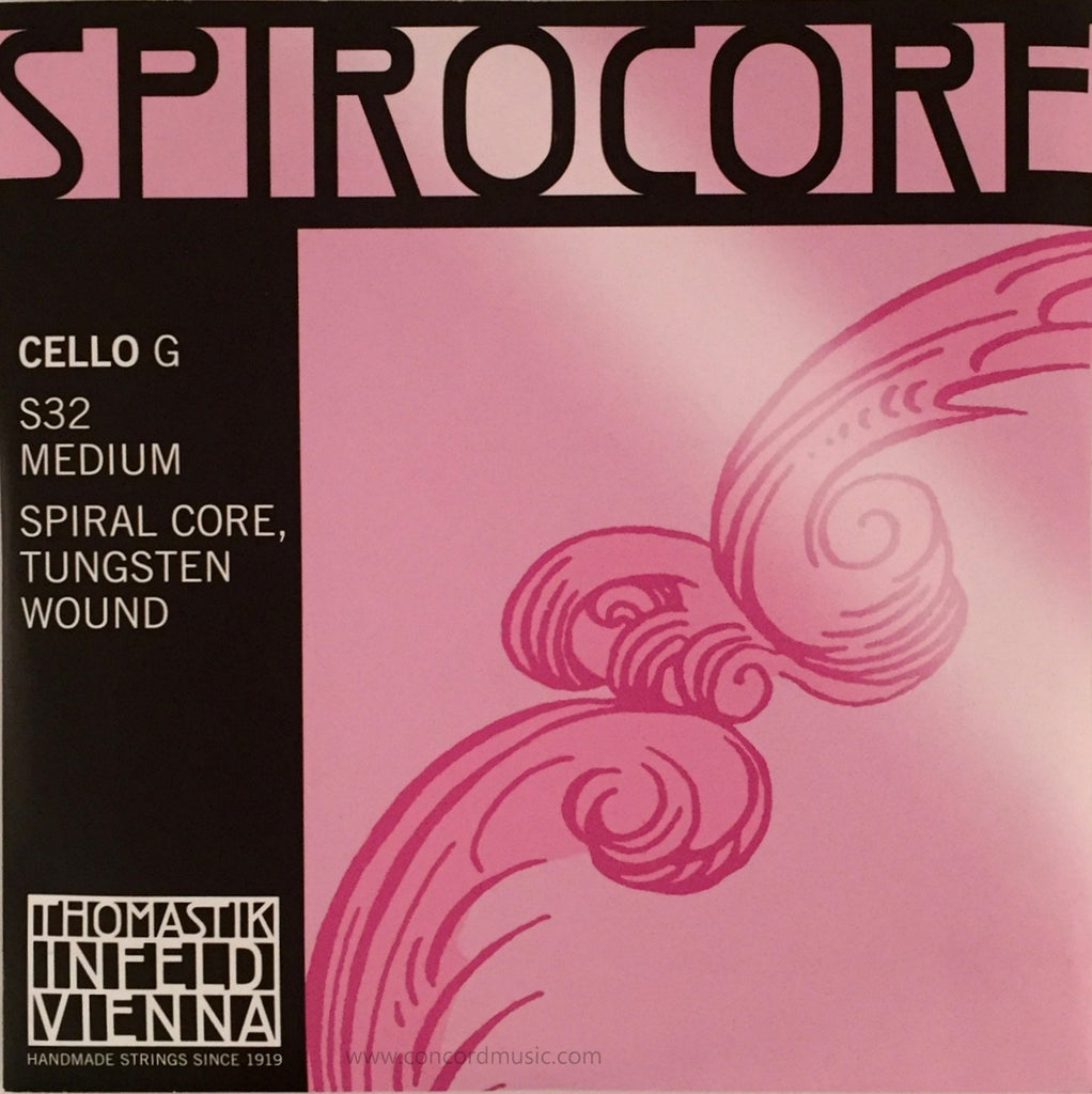 Spirocore Cello tungsten G String S32