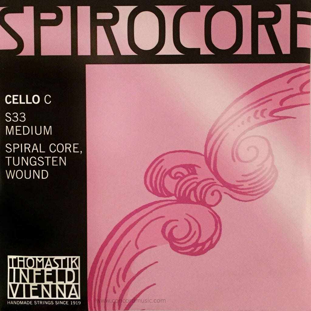 Spirocore Tungsten Cello C Strings S33