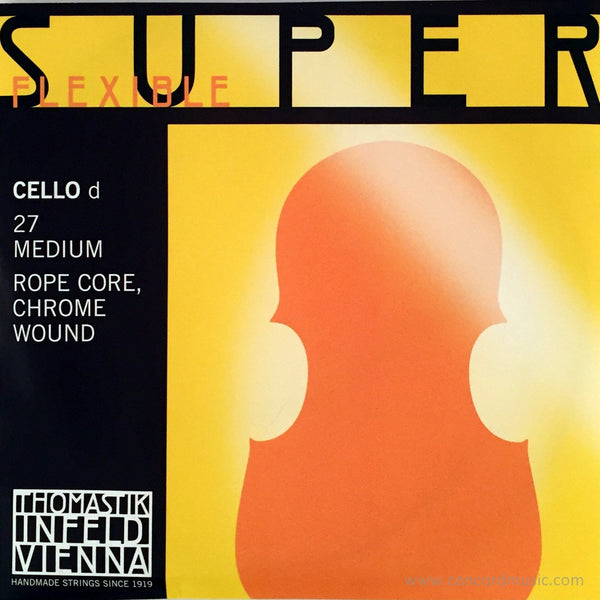 Superflexible cello D 27