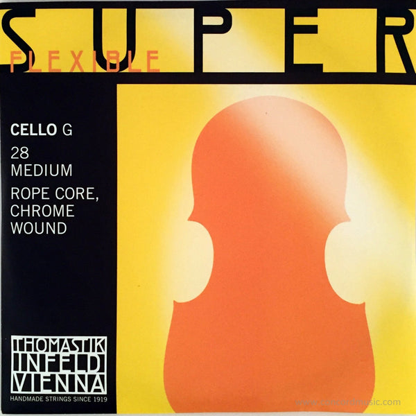 Superflexible cello G 28