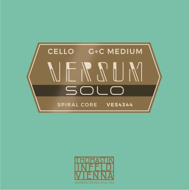 Versum Solo Cello G & C Strings Duo Pack