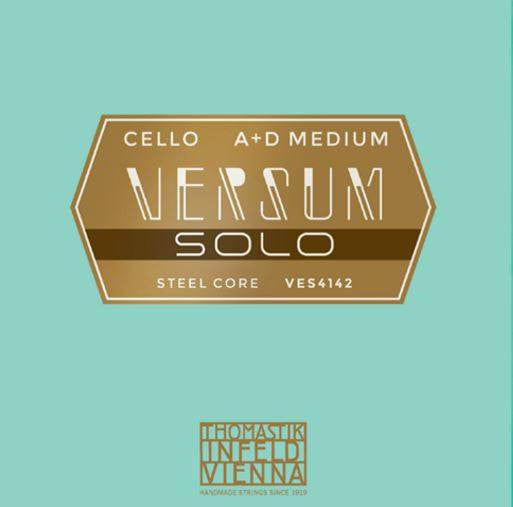 Versum Solo Cello A & D Combo pack