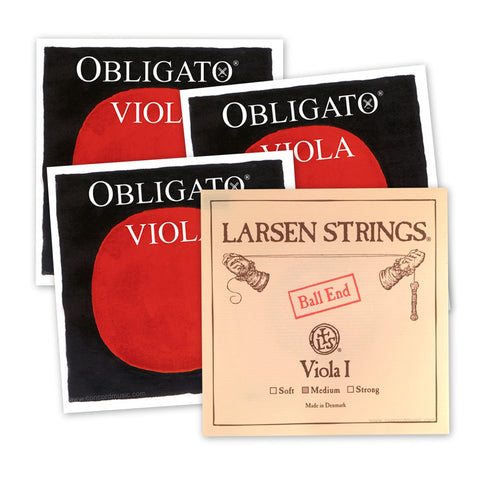 Custom Viola Set Obligato & Larsen Strings