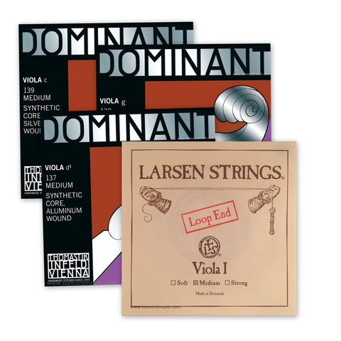 Dominant Viola Set with Larsen A String VA1