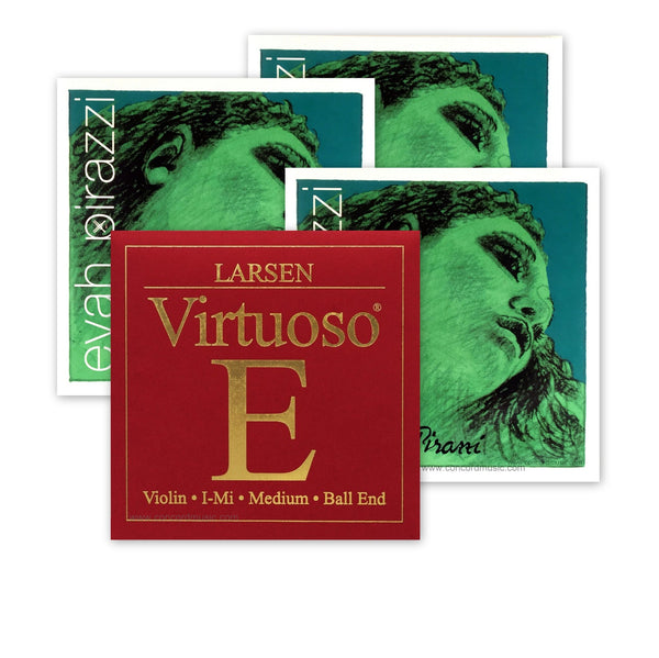 Evah Pirazzi Violin Strings With Virtuoso Violin E